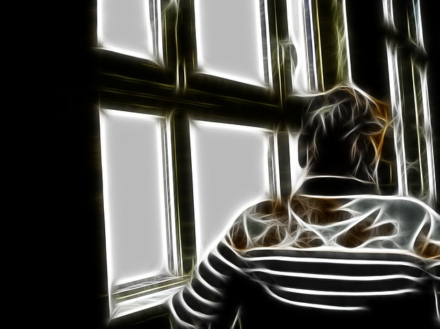 Dependent, Dementia, Woman, Old, Window, Outlook, Age