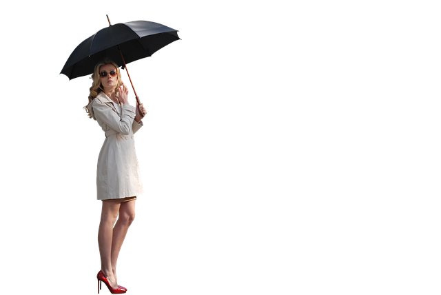 Woman, Umbrella, Rain, People, Girl, Female, Fashion