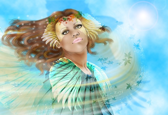 Priestess, Goddess, Wind, Magic, Woman, Mystic, Magical