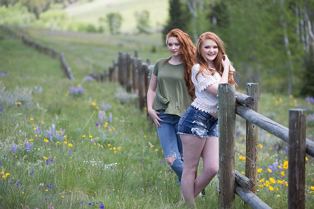 Nature, Grass, Outdoors, Summer, Beautiful, Girl, Woman