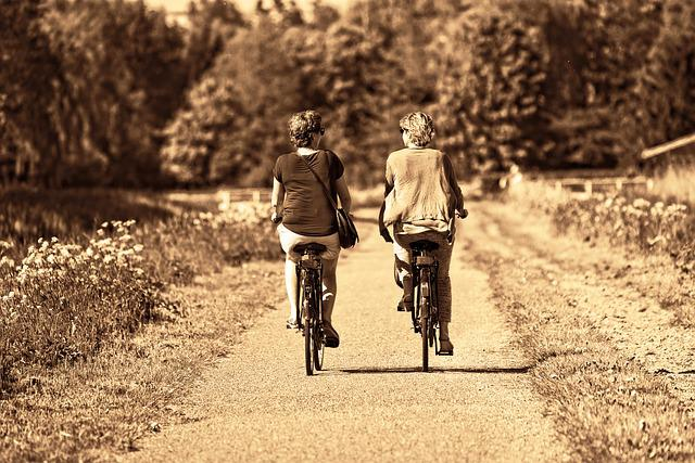 Person, Woman, Together, Two, Friends, Side By Side