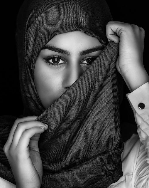 Portrait, Woman, Adult, People, Veil, Mystery