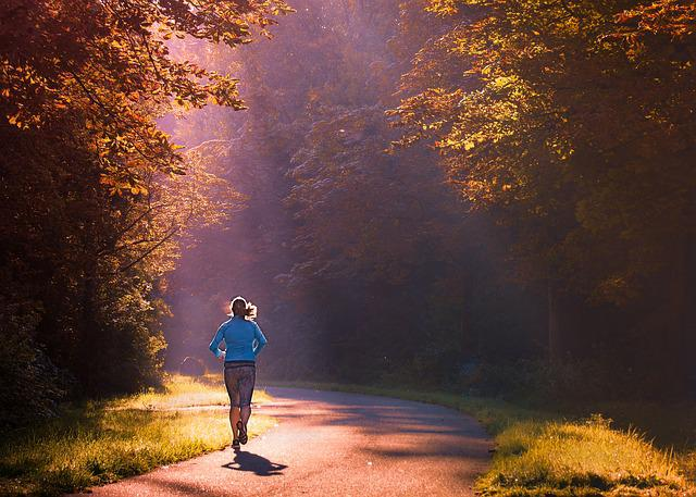 Running, Woman, Morning, Girl, Walk, Runs, Sportswear