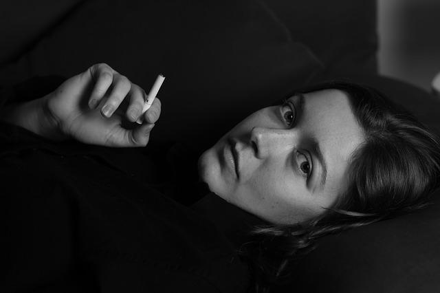Woman, Cigarette, Smoking, Smoke, Nicotine, Young