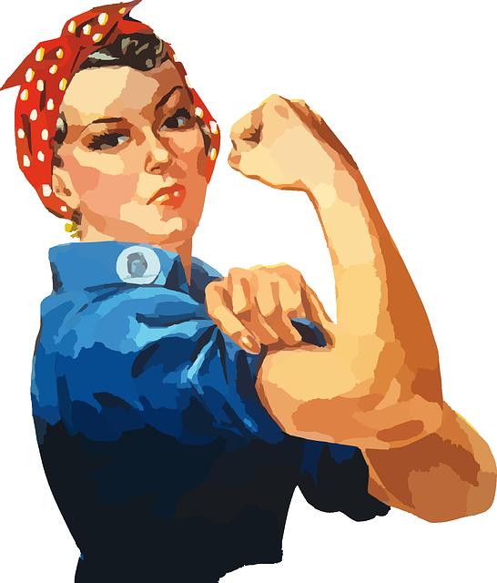 Woman, Equality, Rosie, Riveter, Women, Workforce