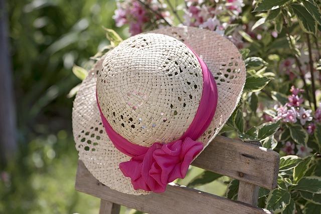 Hat, Summer Hat, Summer, Straw Hat, Women's Hat