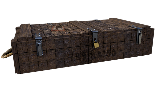 Box, Wood, Ammo Box, Isolated, Png, Fantasy