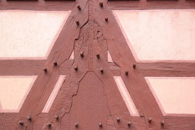 Truss, Wood Nails, Architecture, Fachwerkhaus, Wood