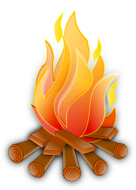 Fire, Camp, Bonfire, Wood, Heat, Flames, Warmth