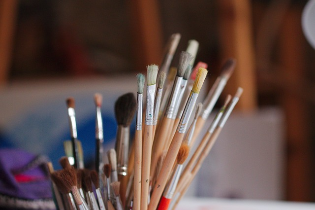 Wood, Brush, Handmade, Creativity, Vertical, Many