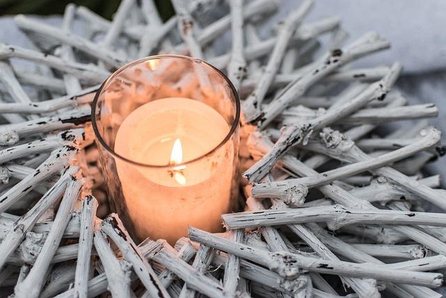 Candle, Wood, Of Wood