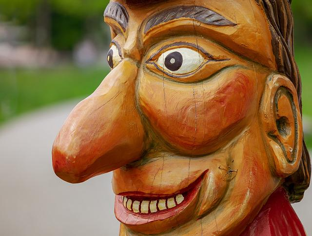 Sculpture, Wood, Face, Eyes, Nose, Mouth, Carving