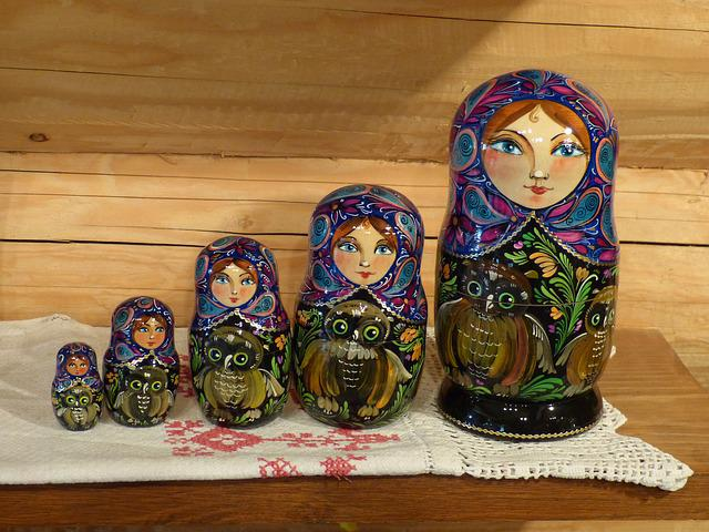 Russia, Cruise, River Cruise, Doll, Wood, Paint, Art