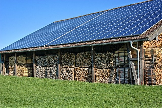 Energy, Eco, Solar, Wood, Photovoltaic