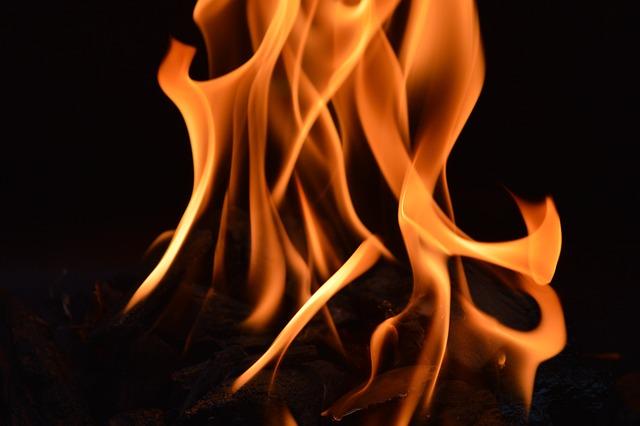 Fire, Flame, Pillar Of Fire, Heat, Burn, Hot, Wood Fire