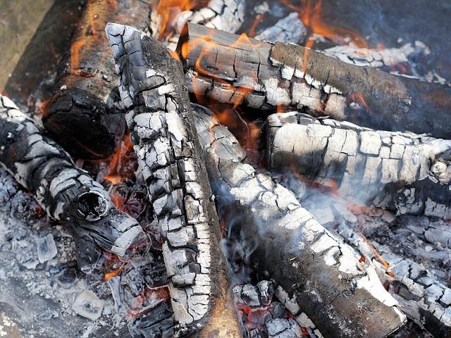 Fire, Flame, Wood, Flare-up, Smoke, Ash, Burn, Campfire