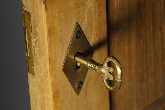 Close, Door, Wood, Input, Security, Castle, Key Hole