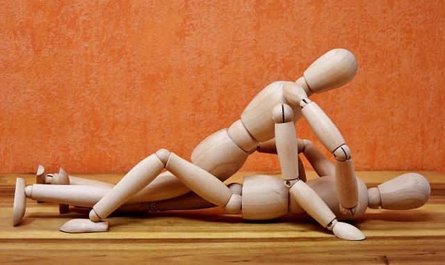 Joint Dolls, Wood, Holzfigur, Love, Pair, Doll