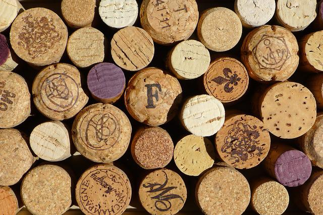 Cork, Wine, Winery, Red, Macro, Wood, Pattern, Texture