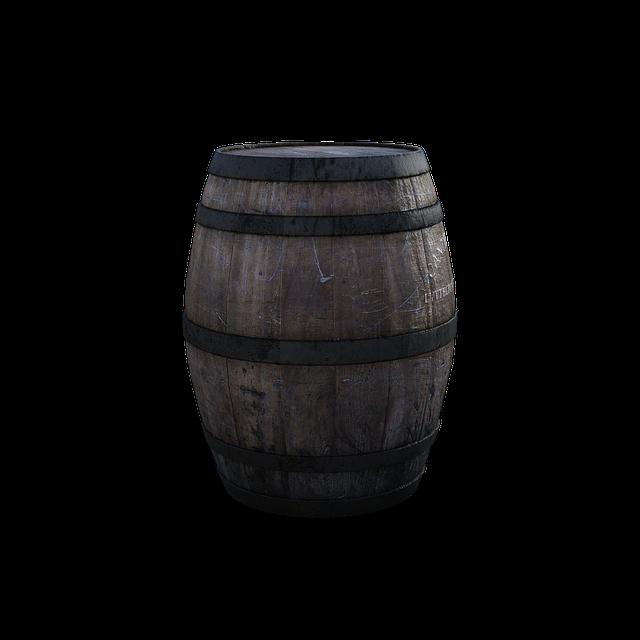Barrel, Old, 3d, Render, Whisky, Wood, Metal, Vintage