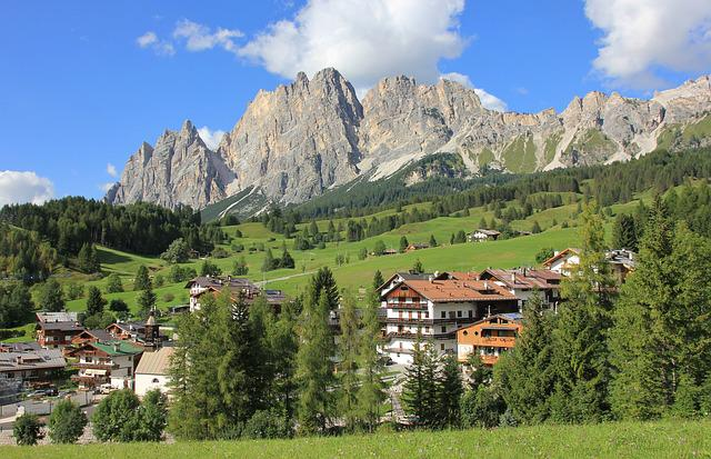 Mountain, Nature, Travel, Wood, Panorama, Dolomites