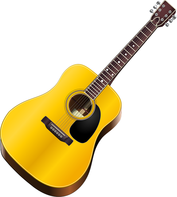 Acoustic Guitar, Guitar, Instrument, Music, Wood