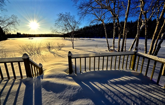 Winter Landscape, Nature, Wood, Outdoor, No Person