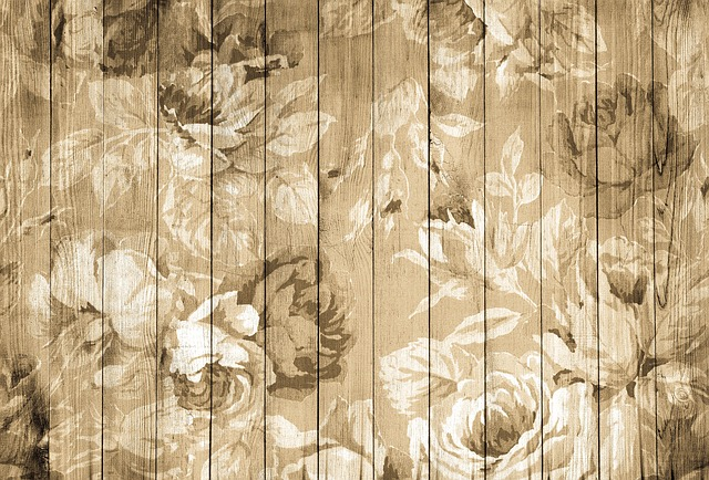 On Wood, Vintage, Wood, Nostalgic, Background, Roses