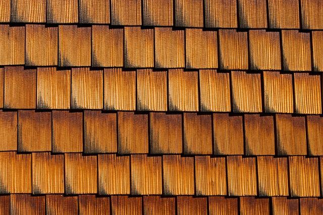 Facade Cladding, Shingle, Wood Shingles, Wooden Wall