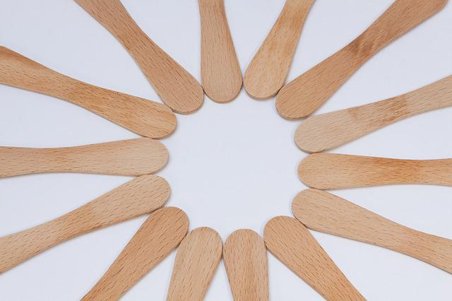 Popsicle Stick, Star, Wood, Background, Structure