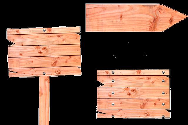 Signs, Wood, Directory, Signposts, Arrow, Web Design
