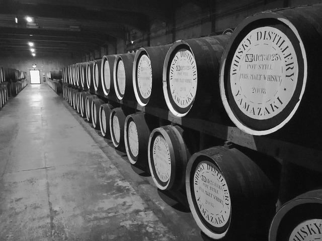 Whiskey, Barrel, Wood