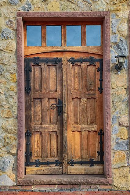 Door, Oak, Wood, Old, Old Door, Wooden Door, Input