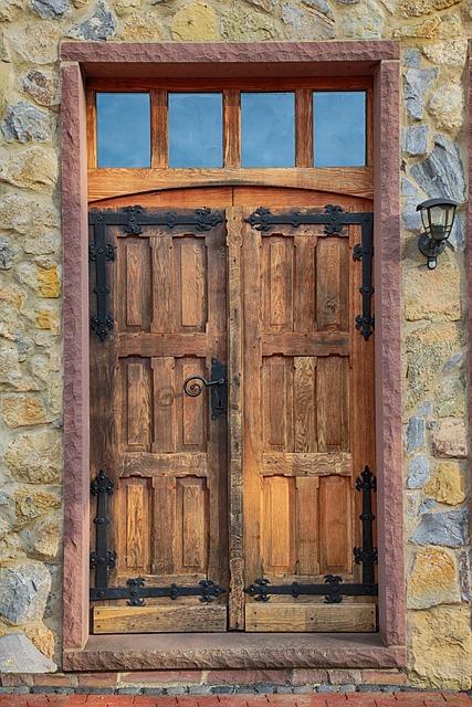Door, Oak, Wood, Old, Old Door, Wooden Door, Input