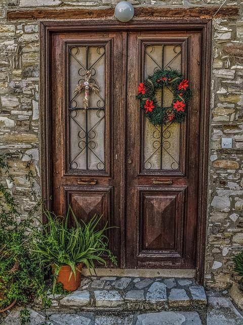 Door, Wood, House, Doorway, Wooden, Entrance