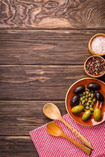 Background, Food, Tasty, Olives, Wooden Background