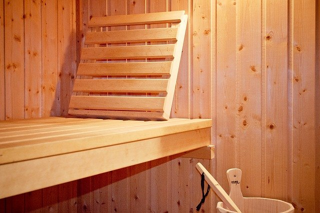Sauna, Wooden Bench, Wood Sauna, Wood, Finnish Sauna
