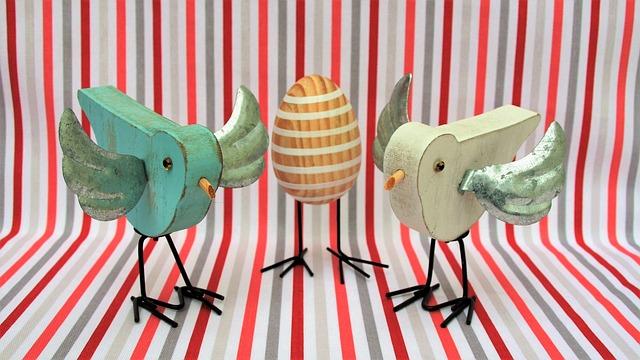 Birds, Wooden, Egg, Strips, Wings, Bird, Fun
