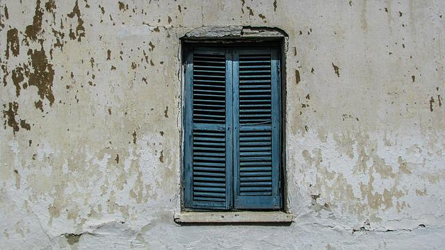 Cyprus, Xylotymbou, Old House, Window, Aged, Wooden