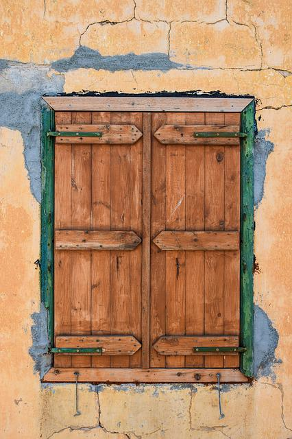 Window, Wooden, Brown, Wall, Home, Architecture