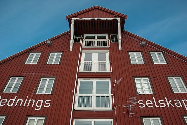 Norway, Finland, Tromso, Wooden House, Facade