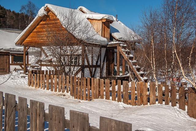 Irkutsk, Lake Baikal, Chalet, Wooden House