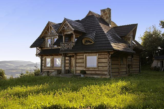 House, Cottage, Mountains, Wooden House, Stok, View