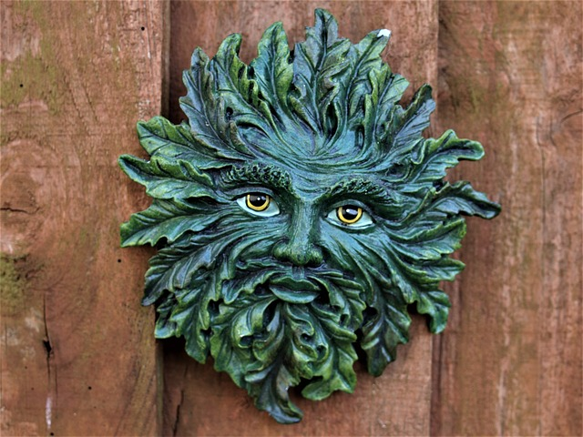 Wood, Decoration, Wooden, Old, Green Man