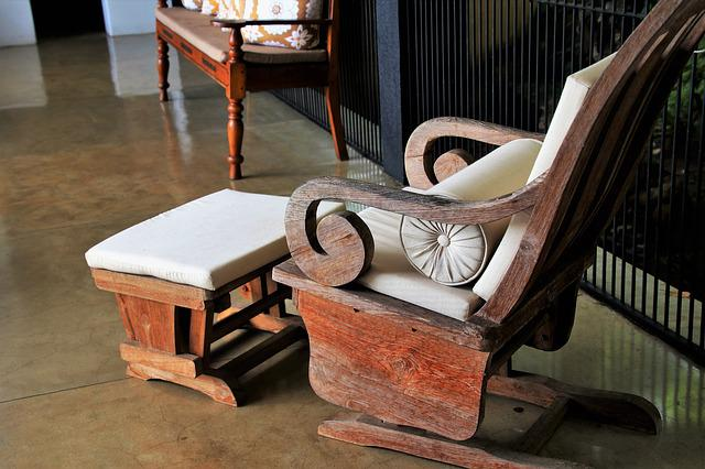 Dashing, Armchair, Old, No One, Wooden, Chair