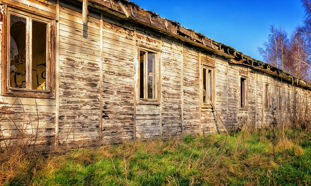 Barrack, Lost Places, Barracks, Wooden Shed, Home