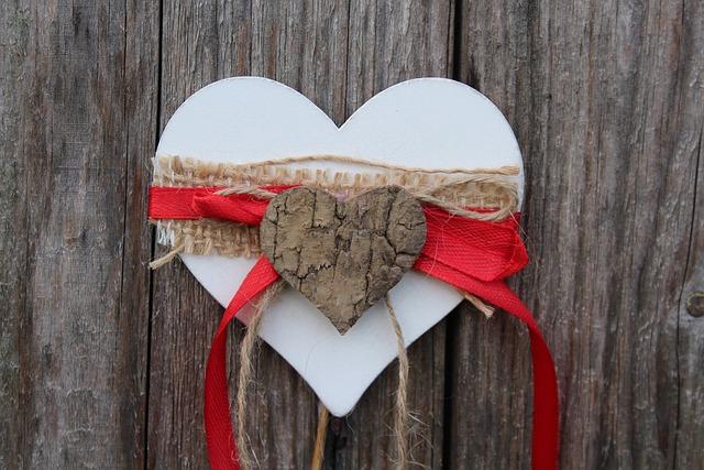 Heart, Wooden, Symbol, Decoration, Valentine's Day