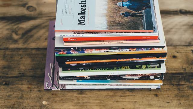 Books, Stacked, Table, Wooden Table
