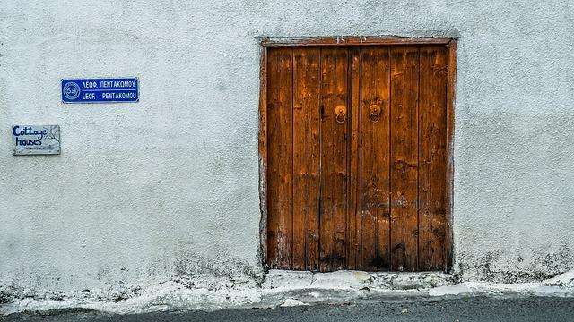 Door, Wooden, Wall, House, Architecture, Traditional