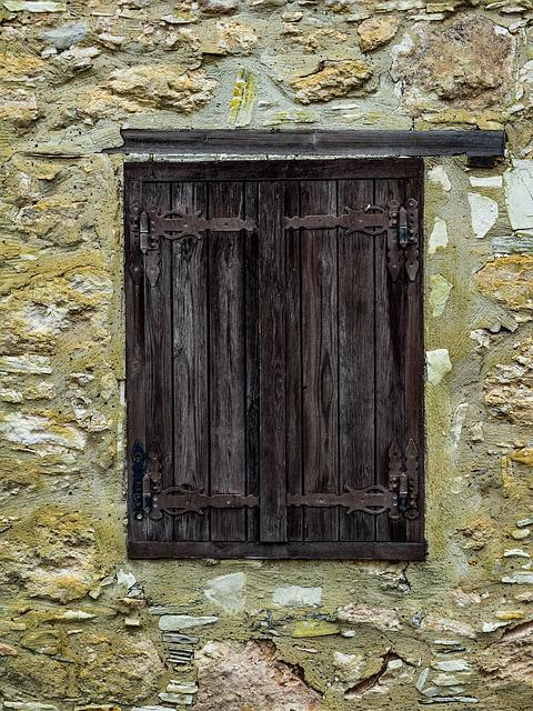 Window, Wooden, Old, Wall, Architecture, Traditional